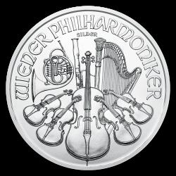Wiener Philharmoniker Silber 1 oz - Jahrgang zufällig