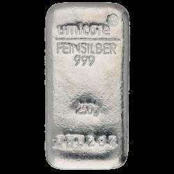 250 g Silberbarren Umicore