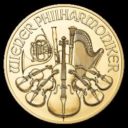 Philharmoniker Gold 1/10 oz - Jahrgang zufällig