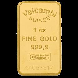 1 oz Goldbarren, verschiedene Hersteller