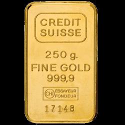 250 g Goldbarren, verschiedene Hersteller