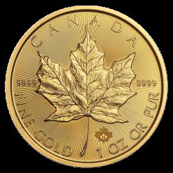 1 oz Maple Leaf Gold - verschiedene Jahrgänge