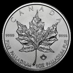 Palladium Maple Leaf 1 oz - Jahrgang zufällig
