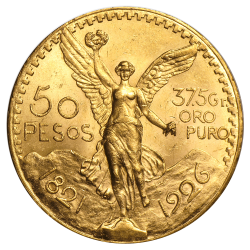 50 Mexikanische Pesos Goldmünze