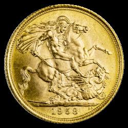 Sovereign Goldmünze - Jahrgang zufällig