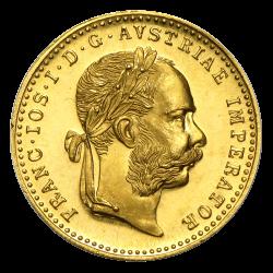 Österreich 1 Dukat Goldmünze
