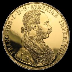4 Dukaten Goldmünze Österreich