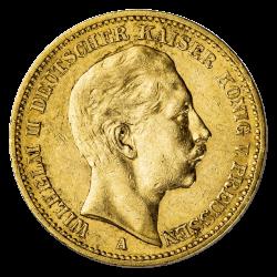 20 Deutsche Mark Reichsgoldmünze - verschiedene Jahrgänge