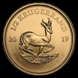 Krügerrand Gold 1/2 oz - Jahrgang zufällig
