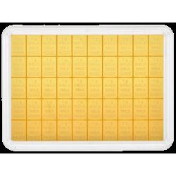 CombiBar Goldtafel 50 x 1 g Valcambi