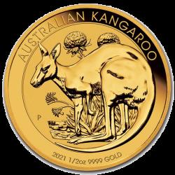 Gold Känguru 2021 1/2 oz