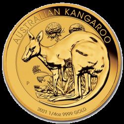 Gold Känguru 2021 1/4 oz
