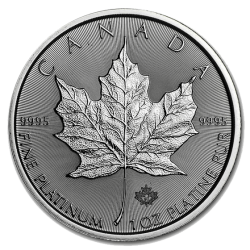 Maple Leaf 1 oz Platinmünze 2021