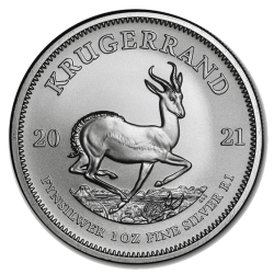 Krügerrand Silber 2021 1 oz