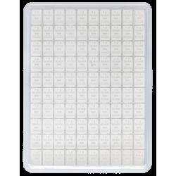 CombiBar Silbertafel 100 x 1 g Valcambi