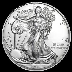 1 oz American Eagle Silber 2021