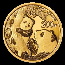 15 g Gold China Panda 2021