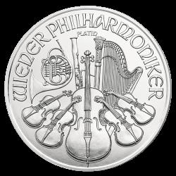 Wiener Philharmoniker 1 oz Platinmünze 2021