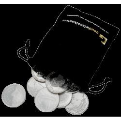 1 Kilo Feinsilber 50 Gulden Münzen Niederlande verschiedene Jahrgänge