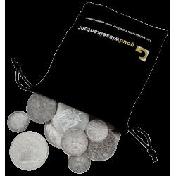 1 Kilo Feinsilber Münzen verschiedene Jahrgänge/Länder