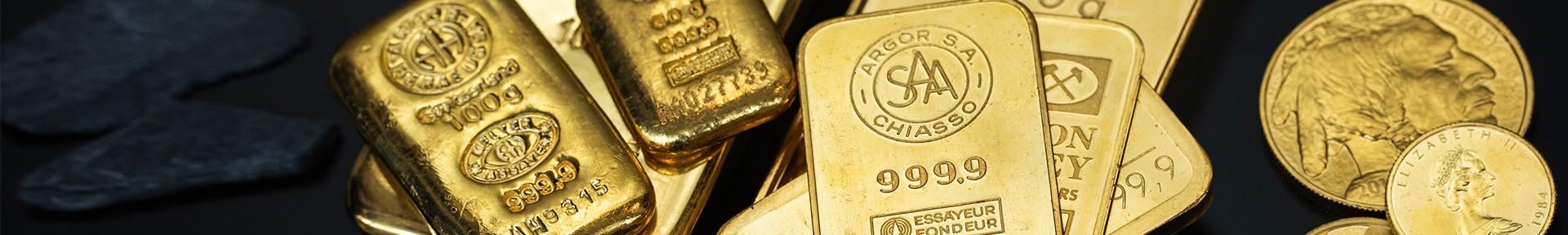 Goldbarren kaufen bei Goldwechselhaus