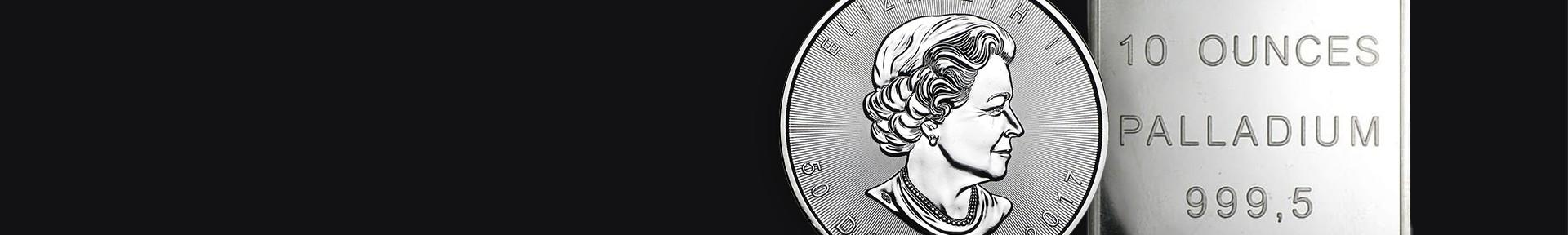 Palladiummünzen kaufen bei Goldwechselhaus