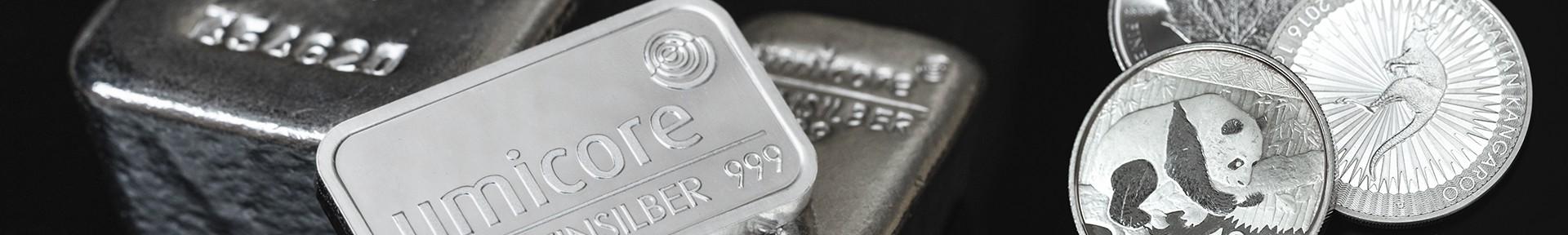 Silber kaufen bei Goldwechselhaus